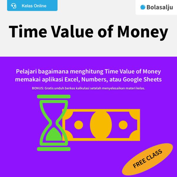 Daftar Kelas Time Value of Money Gratis