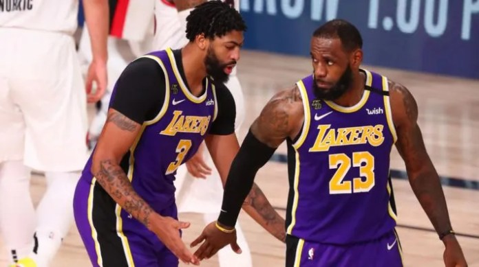 Los Angeles Lakers ante Denver Nuggets (Getty)