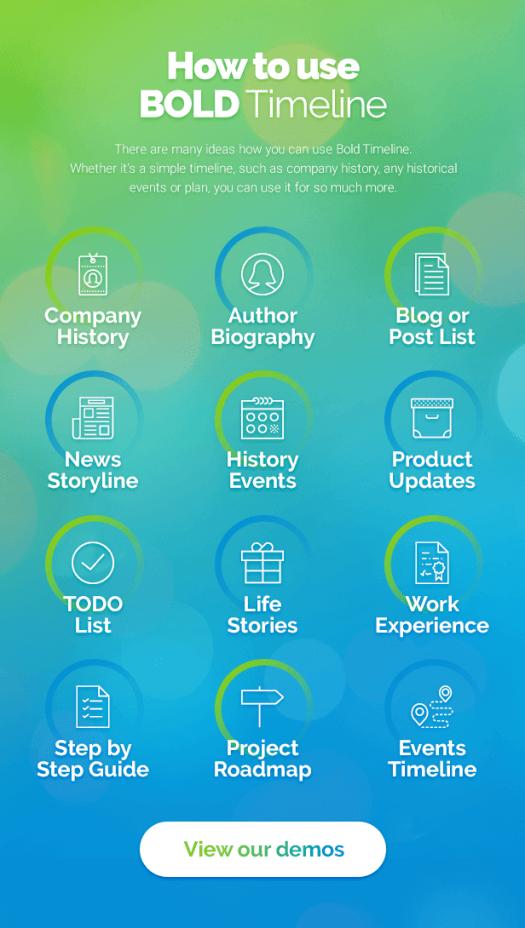 Bold Timeline - WordPress Timeline Plugin - 7