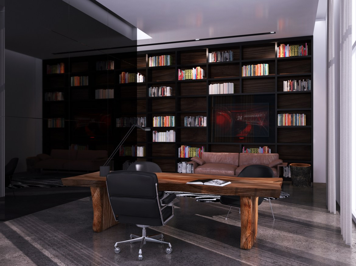 Contemporary Office 2
