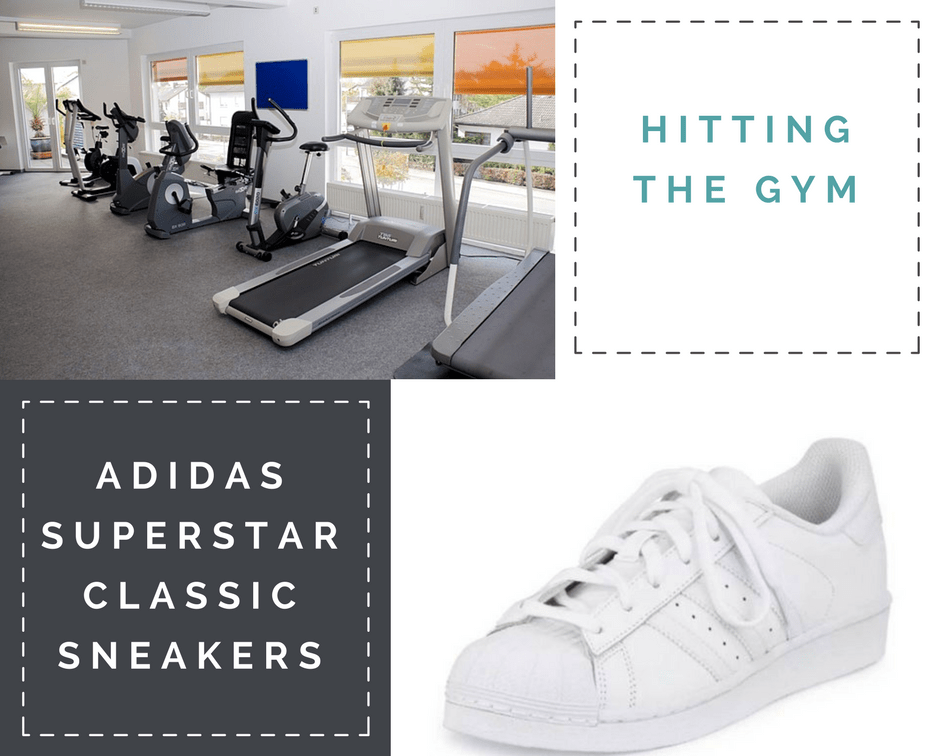 Adidas Superstar Classic Sneaker, White