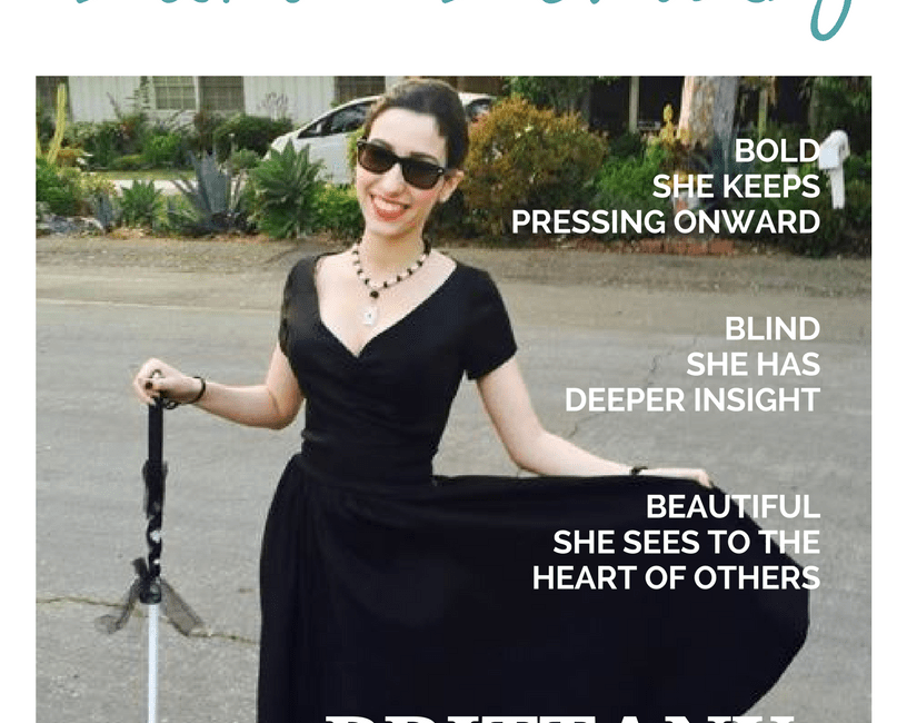 Blind Beauty Issue 23 cover description is in the body of the post.
