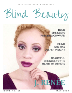 Blind Beauty Issue 38 fearured image description is in the body of the post.