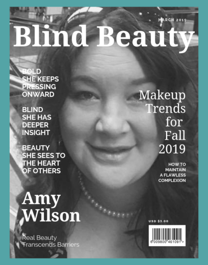 Blind Beauty 71 Amy Wilson featured image description is in the body of the post.