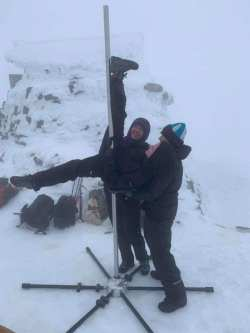 New Life Without Limits Ben Nevis Summit Pole Dance image is described in the post.