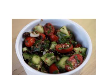 Black Bean & Quinoa Tabbouleh