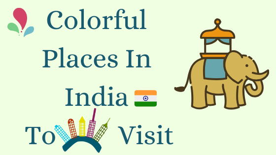 Colorful cities of India