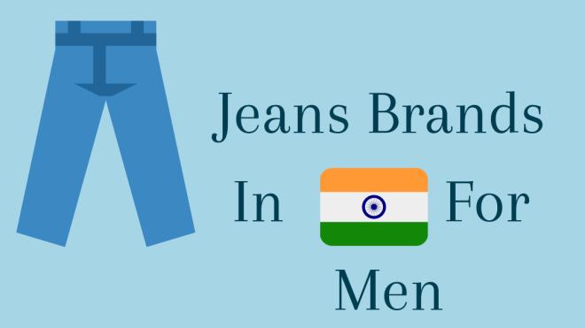 Men jeans brands