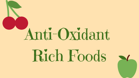 antioxidant rich foods