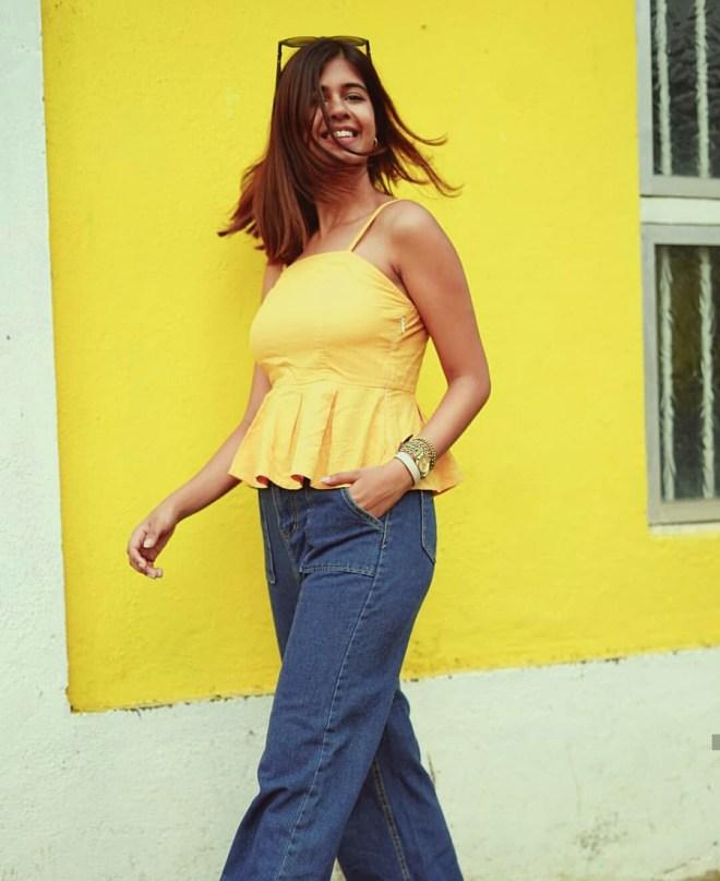 Sejal Kumar yellow dress