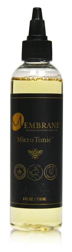 Membrane MicroTonic Mini 4 oz Black
