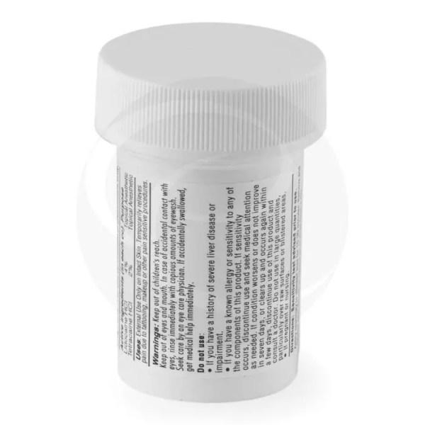 Pro Plus Anesthetic label