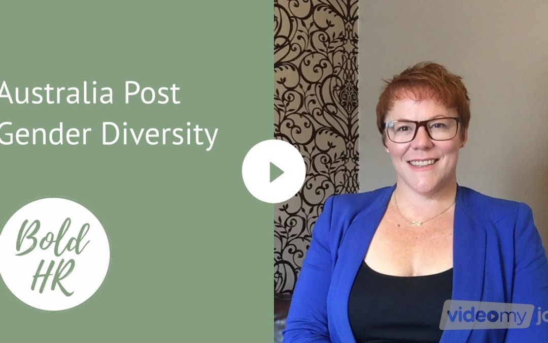 Australia Post Gender Diversity