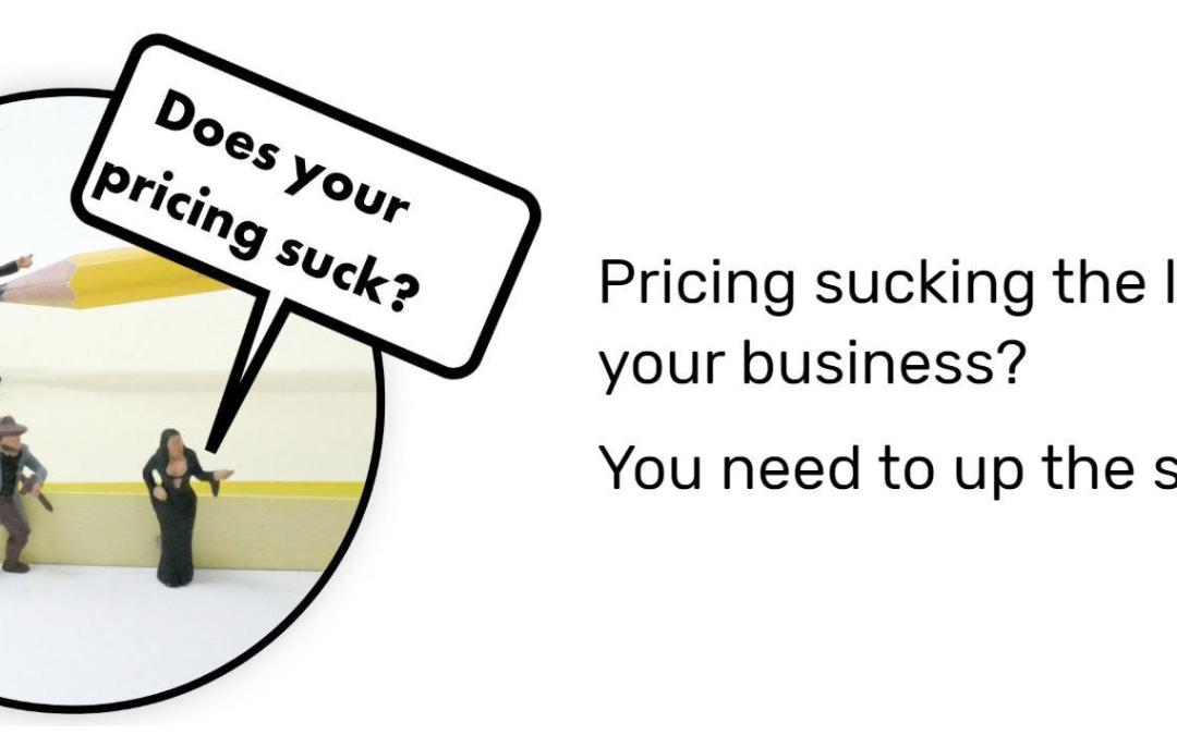 Pricing in a growth business
