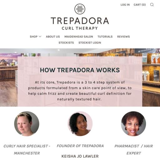 Bold Kulture Beauty business spotlight. The online retailer for Trepadora Curly Therapy