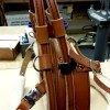 BAH London Tan with support pull handle option  - Balance Assistance Harness™ for service dogs