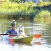 Stephanie in boat - Overstock SALE: Quick Release Brahma Dog Collar™ (vegan & waterproof)