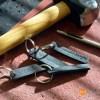 BLD Leather Key Fob