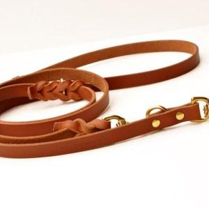 8x8 Lead™ - 8 ft. versatile leather leash