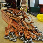 GDB Leashes on bench wm 0032 - BLD Workshop & Production Photos