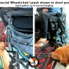 BLD's Wheelchair Leash (use with WC hook) limited dexterity and quadriplegia