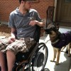 Custom Quad Wheelchair Leash (use with WC hook)