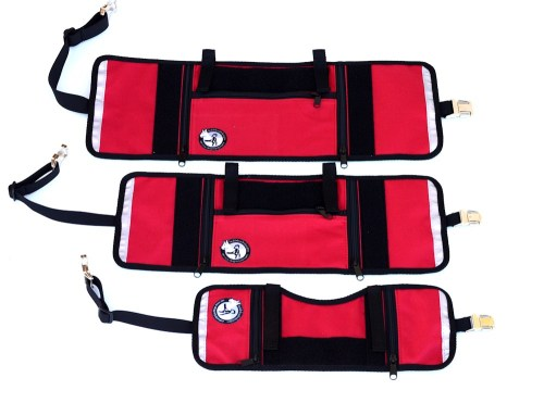 Red 3 sizes 4638 - Service Dog Cape/Vest