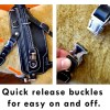 BAH quick release buckles - Mobility Support Harness™ for brace and balance stability assistance