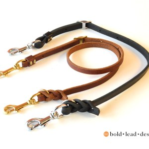 detatchable leads with snaps at each end 3855 - Detachable Leash - for use with Belt System or Wheelchair Leash attachment