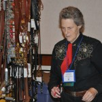 temple grandin at adi cheking out bld - BLD Workshop & Production Photos