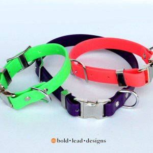 BLD Brahma Quick Release Collars 1 - Overstock SALE: Quick Release Brahma Dog Collar™ (vegan & waterproof)