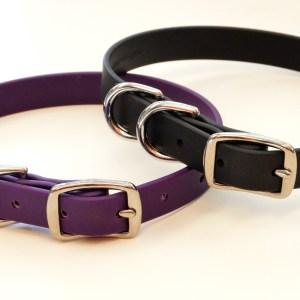 BLD's Double D-ring Brahma Dog Collar (vegan & waterproof)