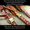EWH metal quick release buckles - Everyday Working Harness