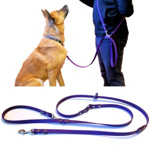 atlas leash over the shoulder with hazel cutout - The Atlas Leash™ - the most useful dog lead ever created