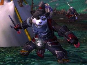 Do Pandaren get any cooler than Taoshi? I doubt it. Makes me want to roll a pandaren rogue everytime!