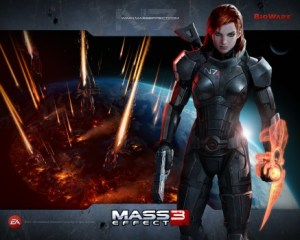 Or maybe you were the best, Fem Shep. Kicking ass and taking names since 2007