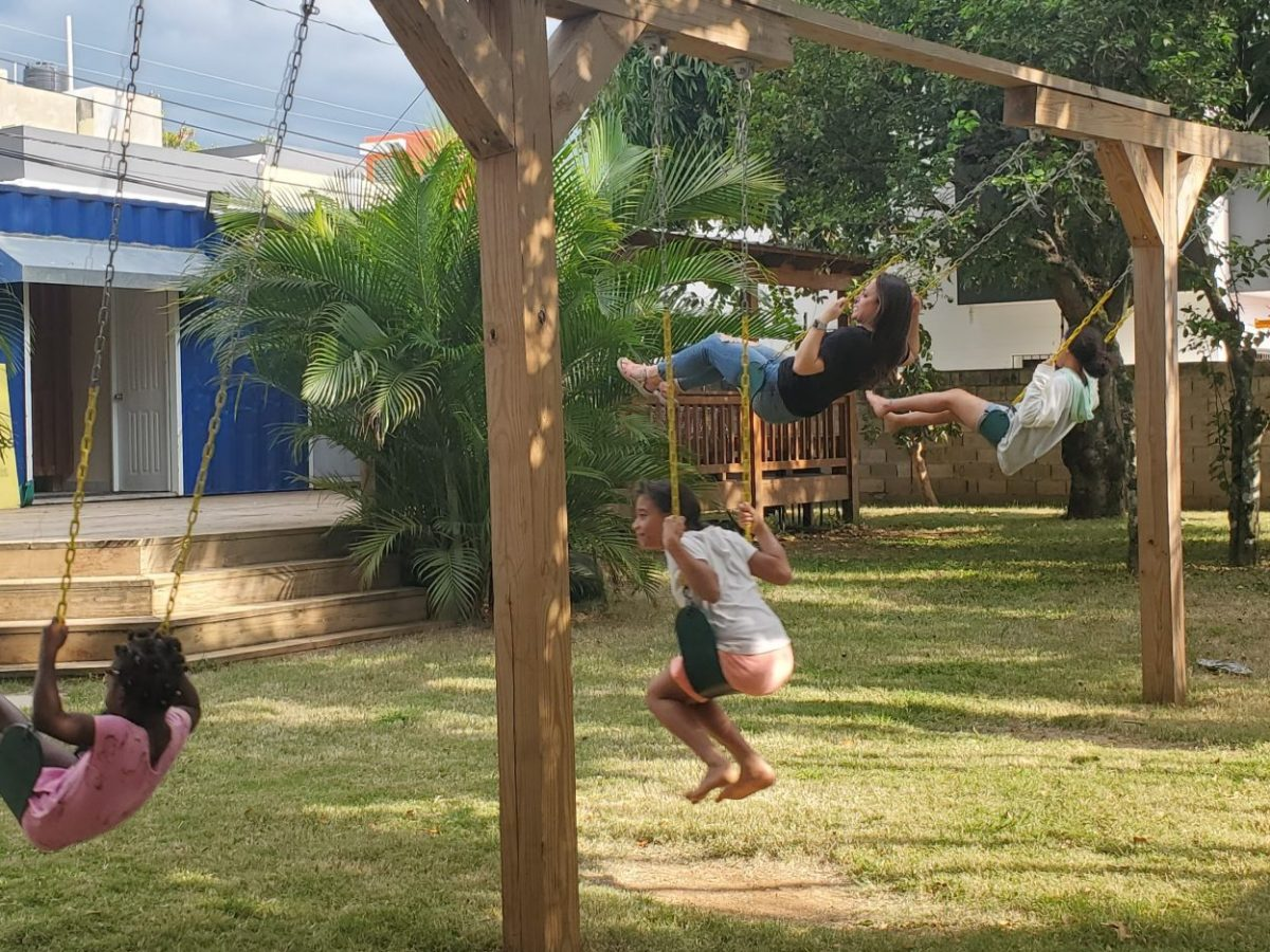 Swinging in the Dominican Republic