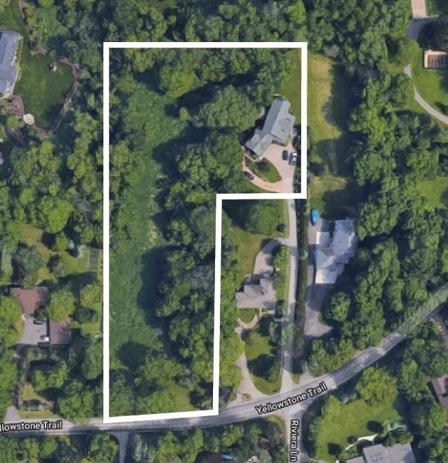 google aerial outline