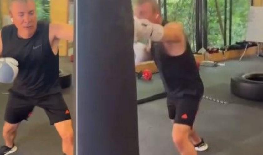 VIDEO/ Parandjen luftë? Damian Gjiknuri e ka marrë seriozisht, stërvitet si boksier…