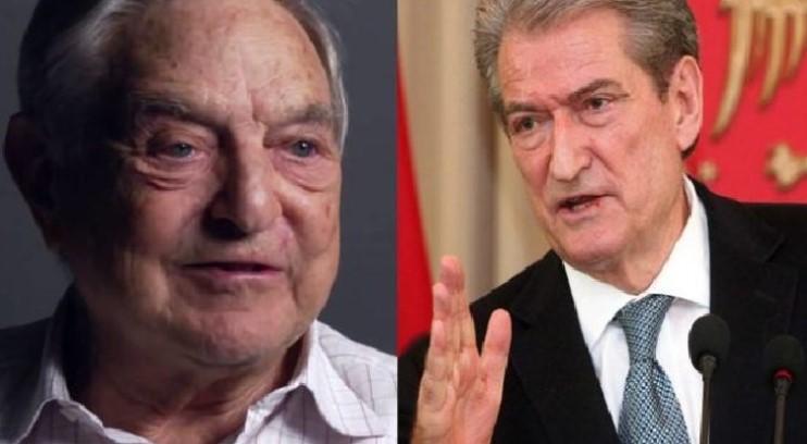 Berisha: Jam shpallur 'non-grata' sepse shpalla 'non-grata Sorosin, armikun forcave konservatore