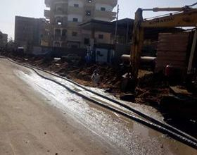 Photo of كابلات وخطوط كهرباء جديدة بمنشاة سلطان بالمنوفية