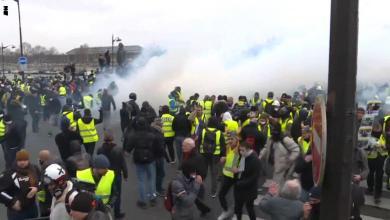Photo of موجة جديدة من تظاهرات السترات الصفراء تجتاح فرنسا.