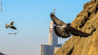 Photo of مصور سعودي يرصد مشهدا فريدا في سماء مكة المكرمة