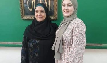 Photo of حسناء بنت أشمون الأولى على الجمهورية فى الدبلوم التجارى