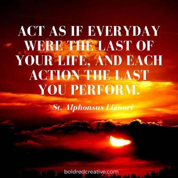 St. Alphonsus Quote