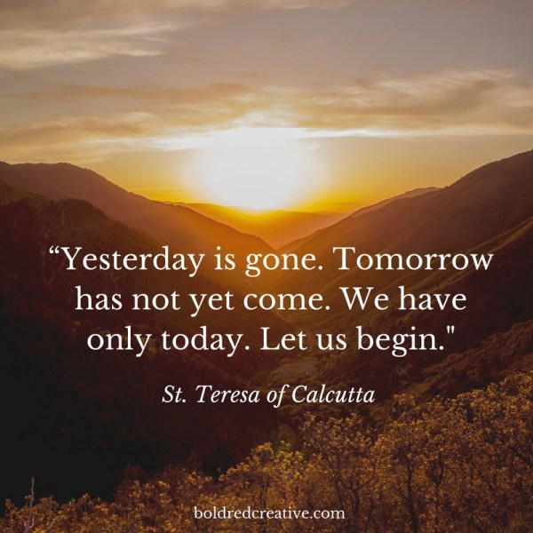 St. Teresa of Calcutta quote