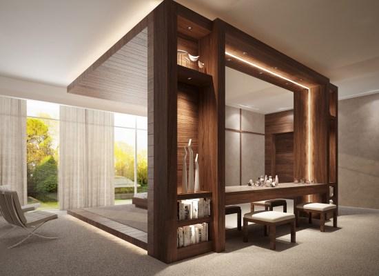 Contemporary Bedroom 11