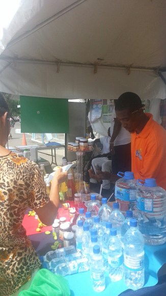 Vendors from throughout the Country selling local products