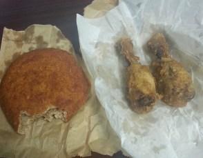 friend chicken and bake