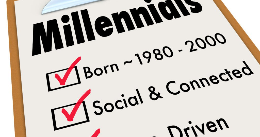 Millennials Checklist Clipboard Age Social Connected Cause Drive